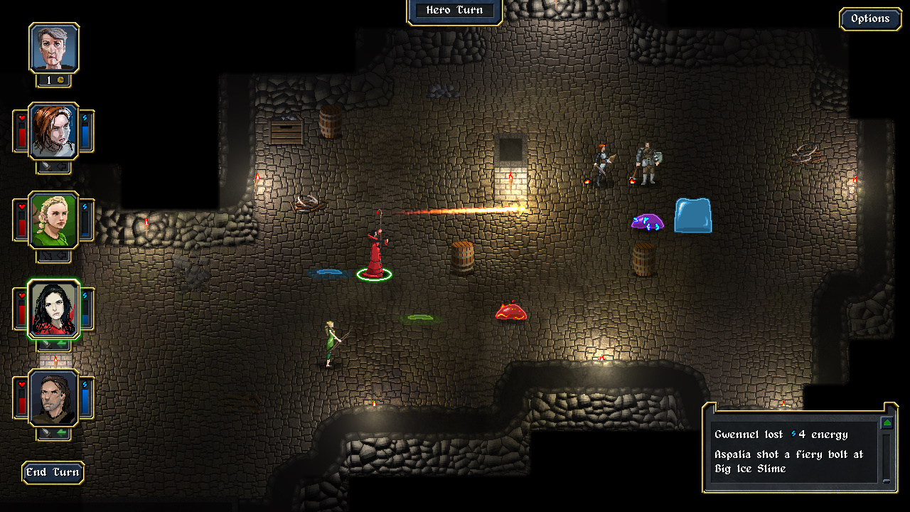Screenshot 3 - slime dungeon